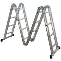 Лестница алюминиевая Sarayli Akrobat 4*4