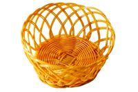 Хлебница плетеная круглая малая