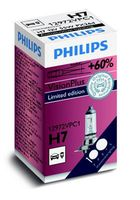 Лампа H7 12V 55W PX26D VISIONPLUS +60%, Philips 12972VPC1 Limited Edition