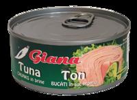 Тунец в собственном соку Giana