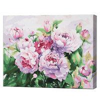 Bujori roz, 40х50 cm, pictură pe numere Articol: GX34228