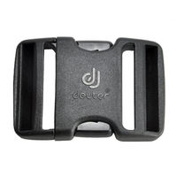 Пряжка фастекс Deuter Quick Release Buckle 25 mm, black, 39667 7000