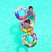 Круг плавательный 61см ,3 цвета, 3-6лет