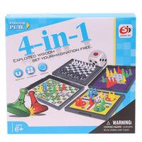 Настольные игры 4-в-1 S3303 (5650)