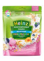 Каша Heinz молочная многозерновая слива-абрикос-черника 200г с 12 месяцев
