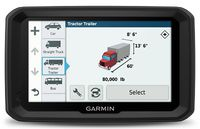 "GARMIN dezl 580LMT Truck Navigator, Licence map Europe + Moldova, 5.0"" LCD (480*272), 16GB, MicroSD, 3D junction view/Attraction, Customized Truck Routing, Truck-specific POIs and Services, IFTA, Up Ahead, Hours of Service, up to 2 hours, 234g"