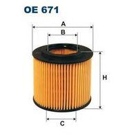 FILTRON OE671, Масляный фильтр