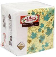 Салфетки столовые MIRUS Standart 24*24 1 слой 100 штук