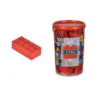 Конструктор Simba Blox Constr. 100 el  красный 4118905