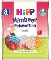 Hipp рисовые хлебцы с малинои, 8+ мес. 30 г