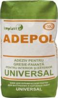 Клей для плитки, камня, полистирола для внутренних и наружных работ ADEPOL UNIVERSAL 25 кг