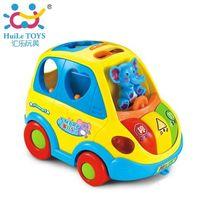 Huile Toys Автобус с музыкой и светом