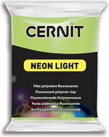 Lut polimeric CERNIT NEON 56g, verde neon