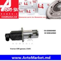 30532 Клапан EGR дизель 1.5dCi LOGAN SANDERO 2005 -