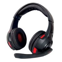 Headset Gaming Esperanza STRYKER EGH370, Black/Red, 2x mini jack 3.5mm, Drivers 40mm, Volume control, Cable length 2m, Weight 250g