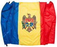 купить Флаг из атласа Молдова или другие страны - 135x90 см в Кишинёве