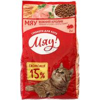 Сухой корм для кошек МЯУ кролик,2кг