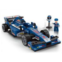 "1:24 F1 Racing Car ""BLUE LIGHTNING"""