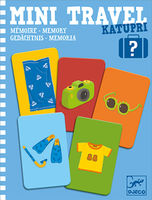 Katupri - Memory Mini Travel Game by Djeco