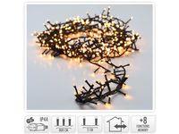 Огни новогодние ветка 400LED, 8m, 8режимов, тепл.-белый