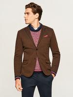 Пиджак RESERVED Тёмно-коричневый reserved tp560-82m