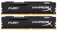 32GB (Kit of 2*16GB) DDR4-2400  Kingston HyperX® FURY DDR4, PC19200, CL15, 1.2V
