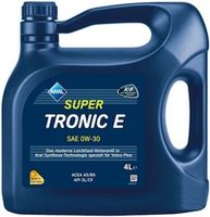 Моторное масло Aral SuperTronic E 0W-30 4L
