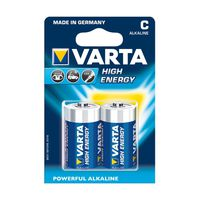 Батарейки Varta C High Energy 2 pcs/blist Alkaline, 04914 121 412