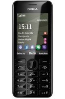 Nokia 206 Black