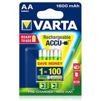 купить Аккумулятор Varta Mignon Accu 1600 mAh AA (2шт) в Кишинёве