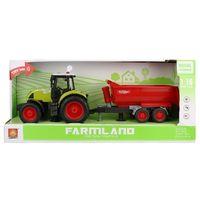 """1:16 Инерционный трактор """"Trailered Farm Tractor"""" (свет / звук)"""