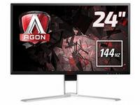 """Монитор 23,8 """" AOC Agon AG241QX, Black (TN, 2560x1440, 1 ms, 146 Hz)"""