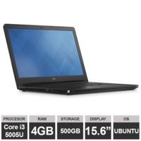 "Ноутбук Dell Vostro 3568 (15,6"" i3-5005U 4GB RAM 500GB HDGraphics Ubuntu) Black"