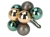 купить Набор шаров 10X25mm (красный,золот, серебр), в связке в Кишинёве