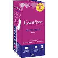 ежедневные прокладки Carefree Plus Large Fresh Ароматизированные, 20 шт.