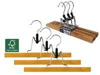 Set umerase pentru pantaloni FSC 3buc 28cm, lemn