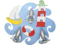 купить Светильник SAILOR 3л сер-коричн 3668 в Кишинёве