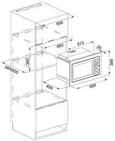 Cuptor cu microunde incorporabil Franke FMW 250 CS2 G XS