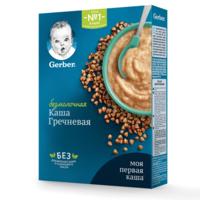 Каша гречневая без молока Gerber, с 5 месяцев, 180г