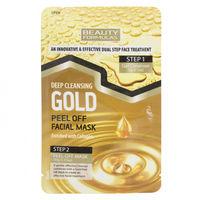 Маска для лица Beauty Formulas  Gold 3g+10g г, 1 шт