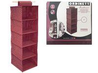 Органайзер для хранения подвесной Bordeaux 5секциий 30X30X12