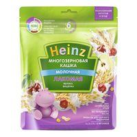 Heinz Лакомая каша многозерновая молочная яблоко, вишенка, 6 мес. 170 г