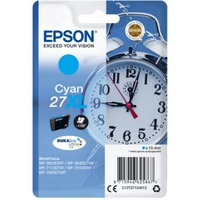 Ink Cartridge Epson T27124022, 27XL DURABrite Ultra Ink, cyan