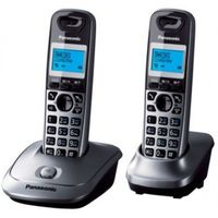Panasonic KX-TG2512UAT, Caller ID Sp-Phone Titanium