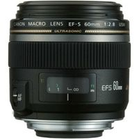 CANON EF-S 60mm f/2.8, черный