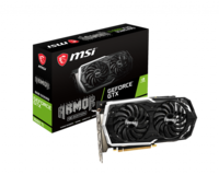 MSI GeForce GTX 1660 ARMOR 6G OC  /  6GB DDR5, 192Bit