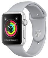 Apple Watch 3 42mm Silver Aluminum Case Fog Sport Band