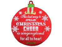 """купить Украшение подвесное D30cm """"Шар"""" с надписью """"Merry Christmas"""" в Кишинёве"""