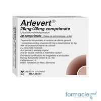 Arlevert comp. 20 mg + 40 mg  N10x2