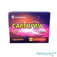 Captopril 50mg comp. N10x2 (Eurofarmaco)